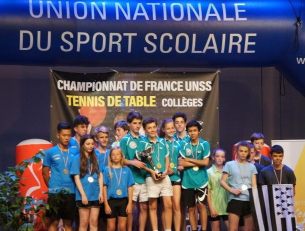 Championnat de france de tennis de table coll ge de la - Championnat de france de tennis de table ...